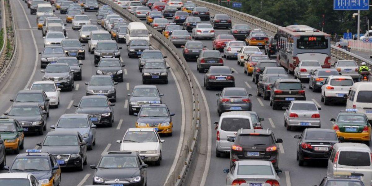 VIDEO: Esto sucede cuando se pierde la cabeza en el tráfico