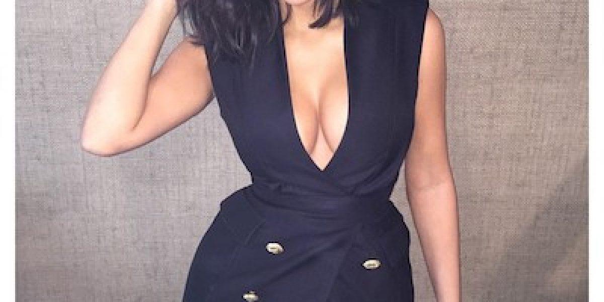 ¿Qué le pasó al cabello rubio de Kim Kardashian?