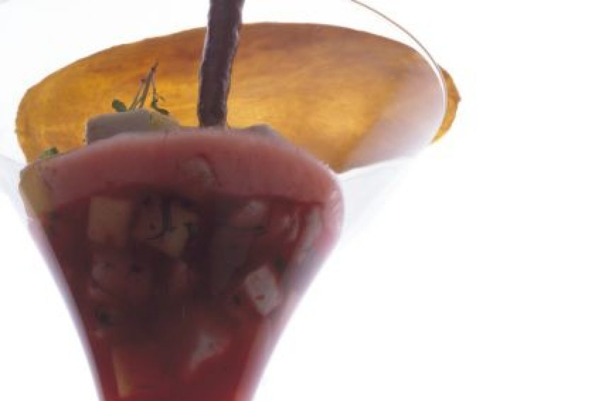 Ceviche vampiro con esplendor de mango Foto:Cortesía: Restaurante Dulce Patria. Imagen Por: