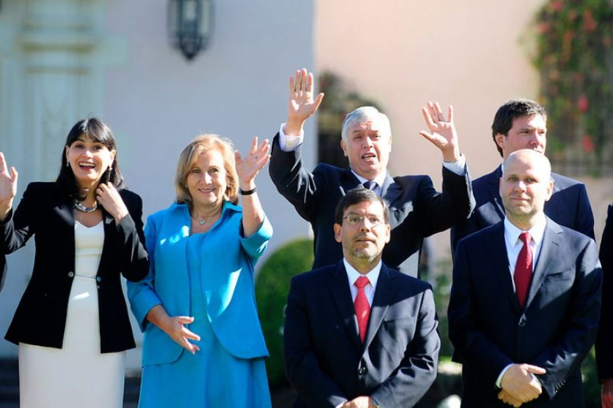 Álvaro Elizalde es investido como Ministro secretario General de Gobierno Foto:Agencia Uno. Imagen Por: