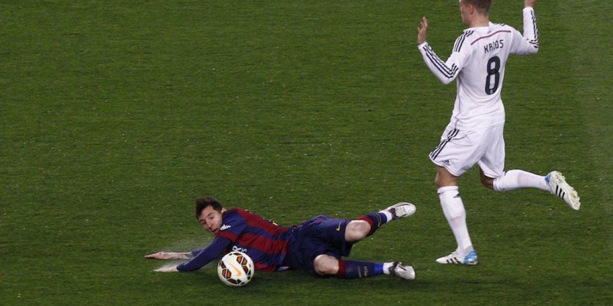 FOTOS: Así celebró Lionel Messi la victoria ante el Real Madrid