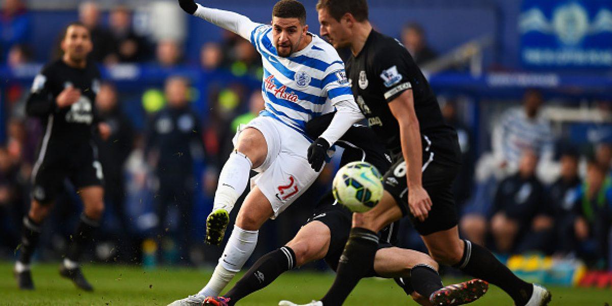 Vargas regresó al gol tras cinco meses en la Premier, pero el QRP perdió y sigue hundido