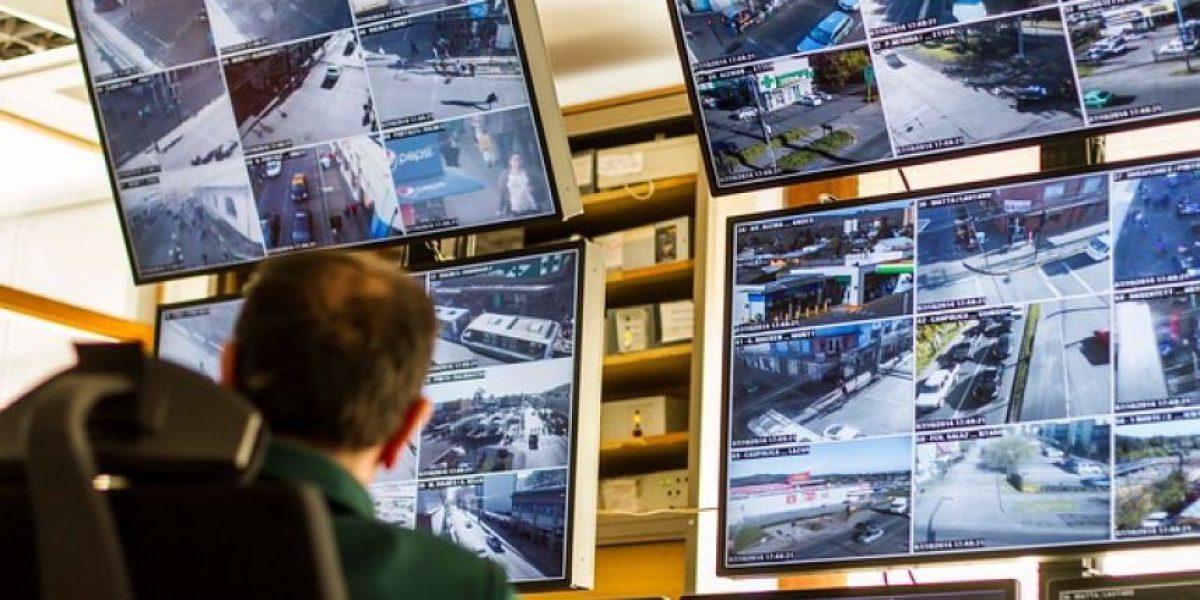 Carabineros vigilará las calles de Santiago con 76 cámaras para mejorar la seguridad vial