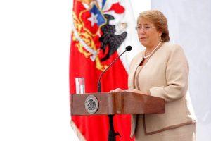Presidenta de la República, Michelle Bachelet Foto:AgenciaUNO. Imagen Por: