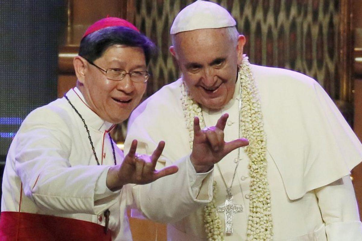 """5. """"Yo no quise ser Papa"""", reconoció al ser cuestionado sobre si había aspirado al puesto actual. Foto:AP. Imagen Por:"""