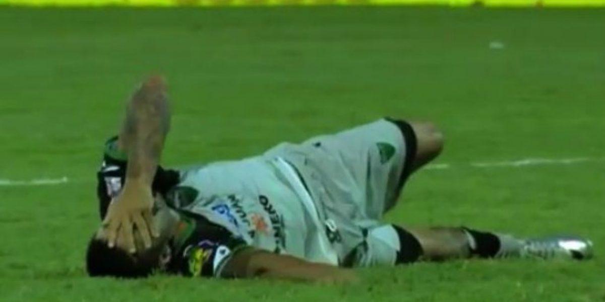 Carlos Bueno estará entre seis a ocho meses fuera de las canchas