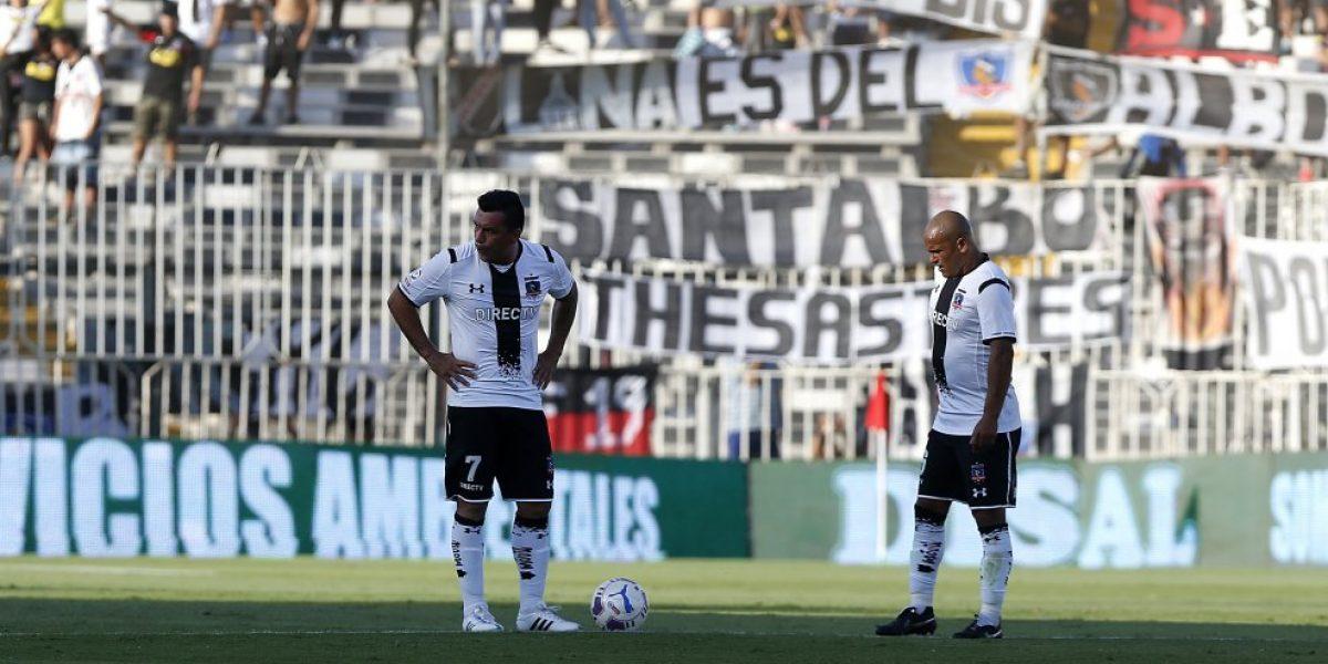 Suazo comenzó su recuperación y se perdería cuatro partidos con Colo Colo