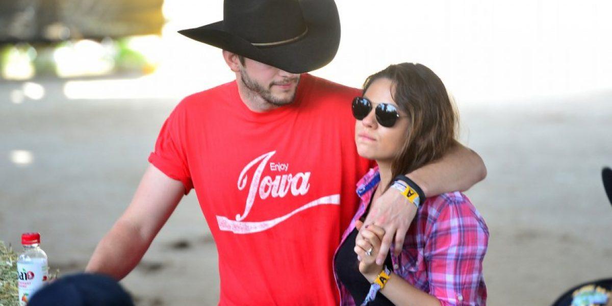 ¡Confirmado! Mila Kunis y Ashton Kutcher se casaron en secreto