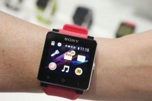 Este es el SmartWatch 2 SW2 de Sony. Cuenta con GPS, conección inalámbrica y aviso de notificaciones. Foto:Getty. Imagen Por: