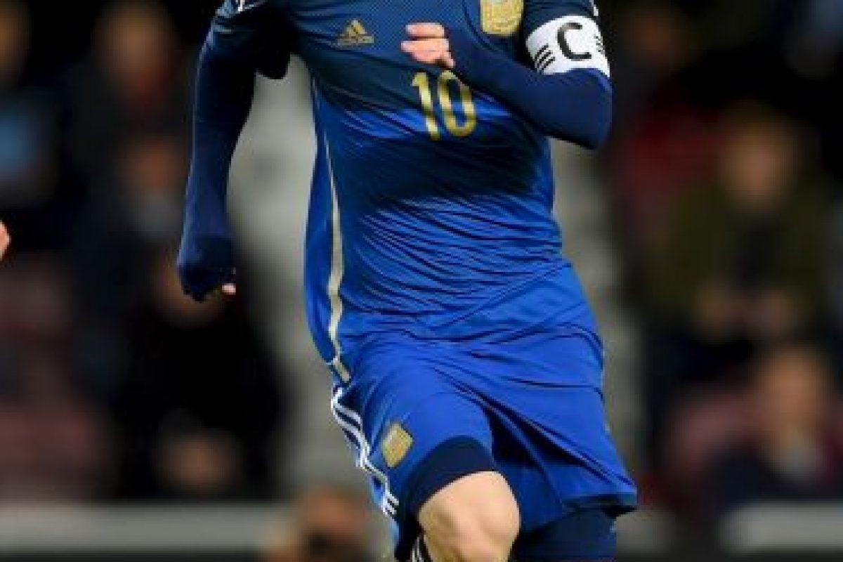 El astro argentino de 27 años es seleccionado nacional desde los 18 años, cuando se integró al equipo sub-20. Foto:Getty Images. Imagen Por: