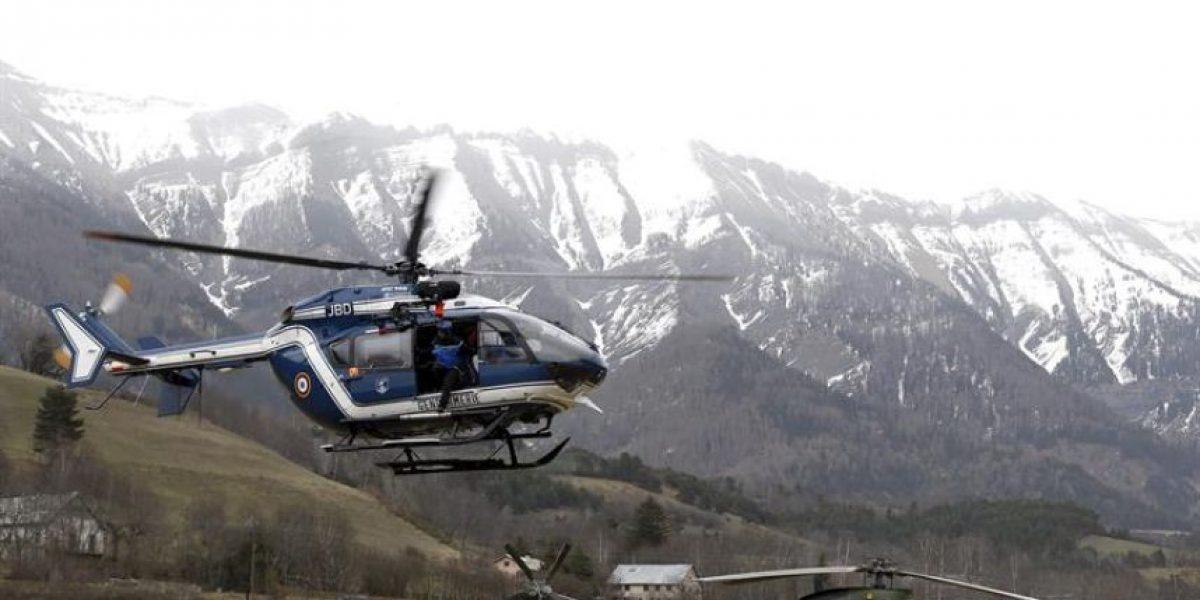 Encuentran una de las dos cajas negras del avión siniestrado en Francia