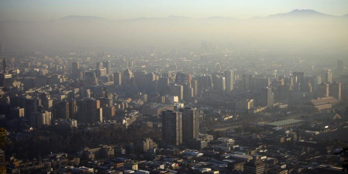 Decretan Alerta Sanitaria Ambiental en la Región Metropolitana por contaminación