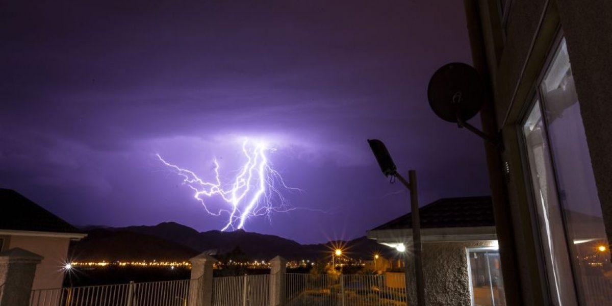 Fotos: Así se vivió la #tormentaeléctrica en Copiapó