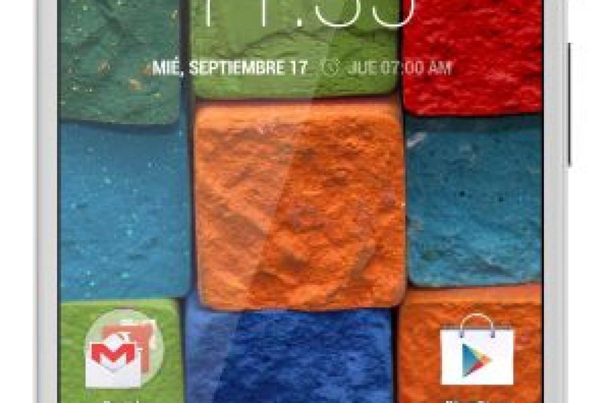 El Moto E se puede encontrar desde los $59.990 en modalidad prepago Foto:Gentileza. Imagen Por: