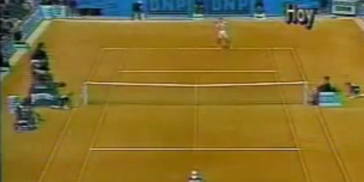 Así jugaba el Chino Ríos cuando llegó a ser número uno de Chile en 1994