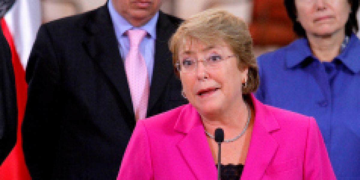 Sequía del país: Bachelet anuncia inversión de 105 mil millones de pesos