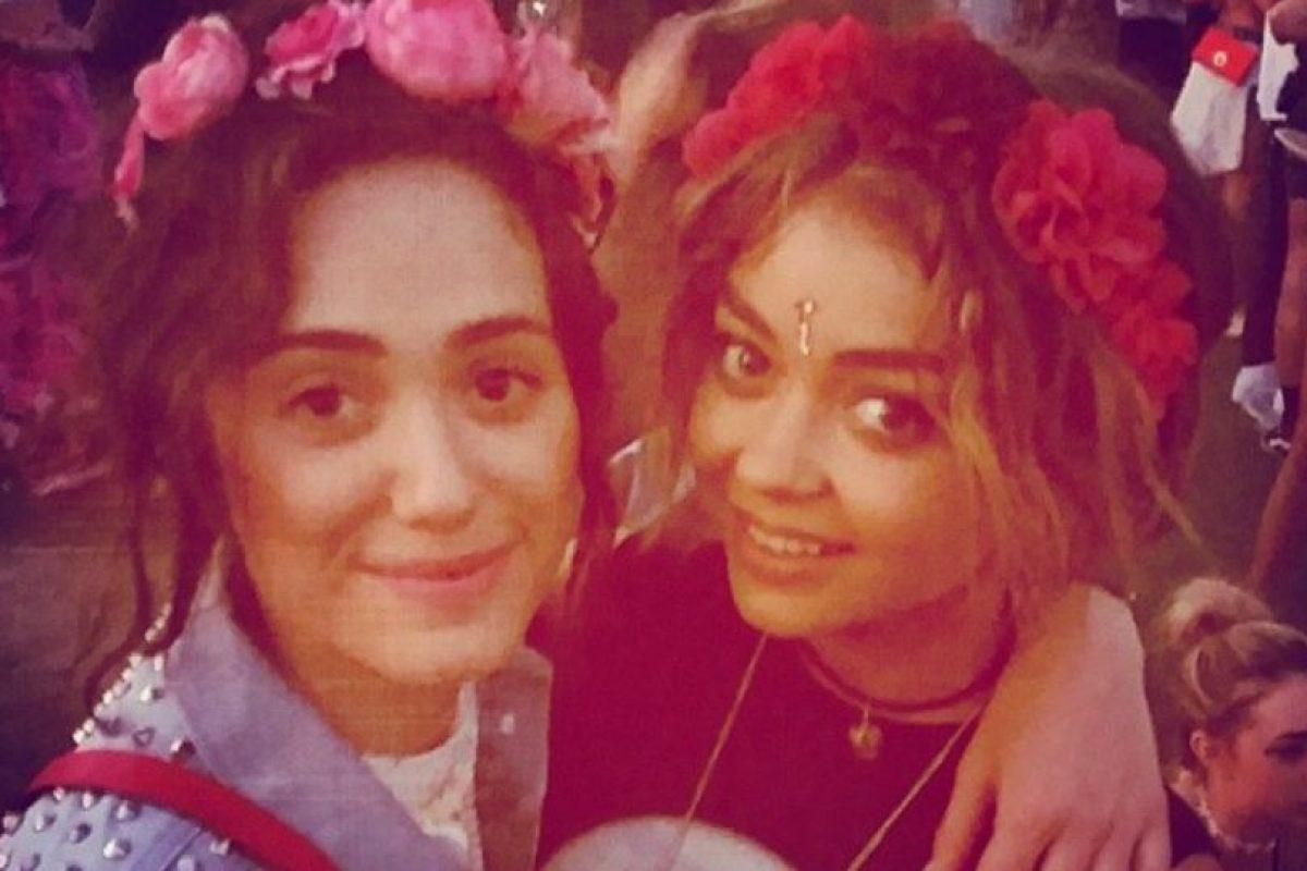 ¿Coronas de flores? ¿En serio? Foto:Instagram. Imagen Por: