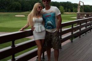 En la foto: Alena y su ex esposo Alexandr Foto:Vía Facebook Alexandr. Imagen Por: