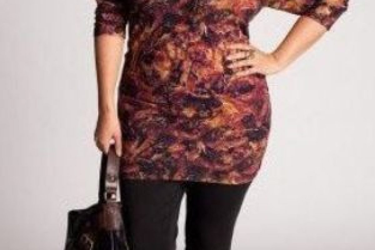Sobre todo si se habla de texturas, estampados y cuero, entre otras prendas que los expertos consideraban que a las plus size se les veían mal. Foto:PInterest. Imagen Por: