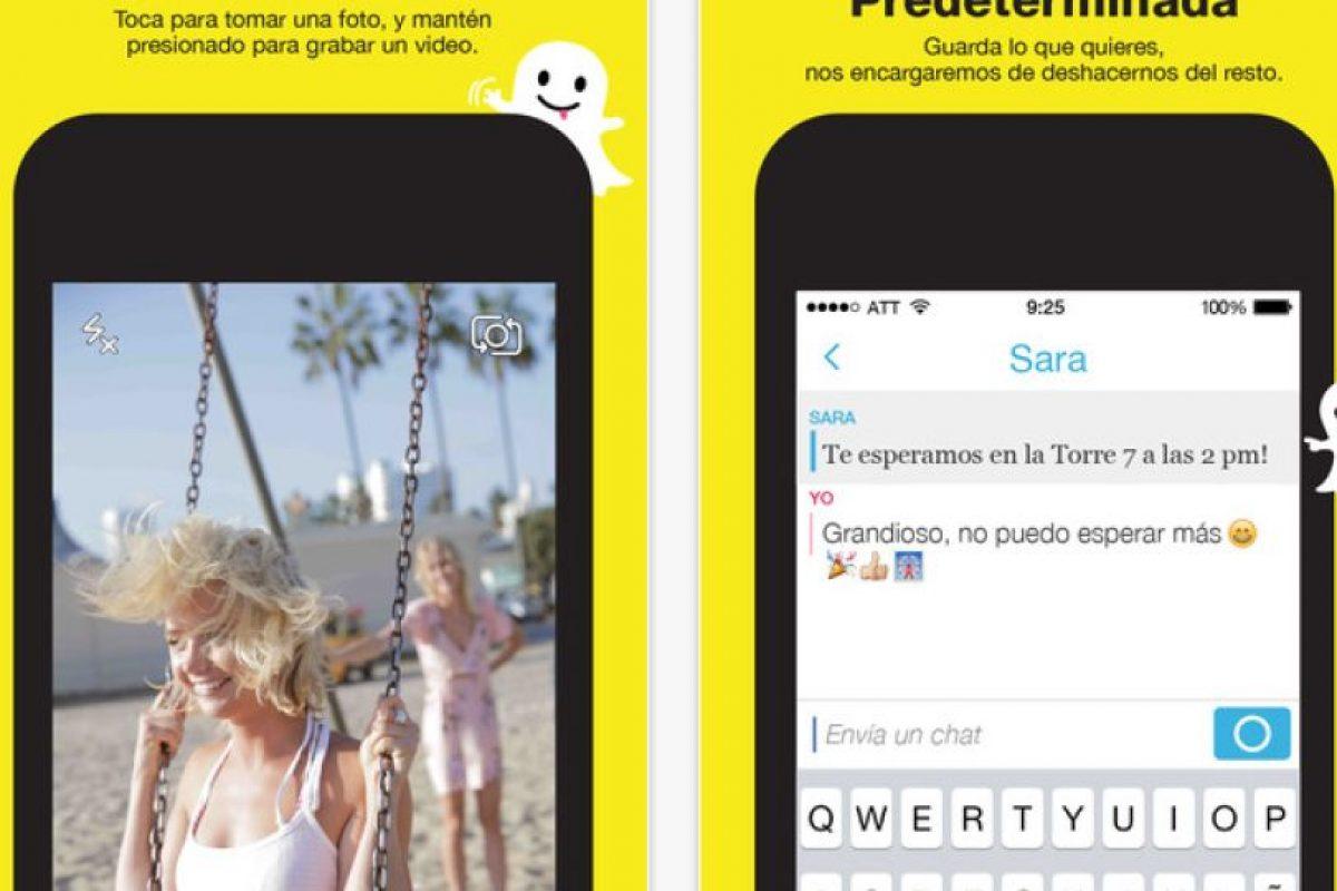 Te presentamos algunos escándalos más sonados de esta aplicación. Foto:Snapchat, Inc.. Imagen Por: