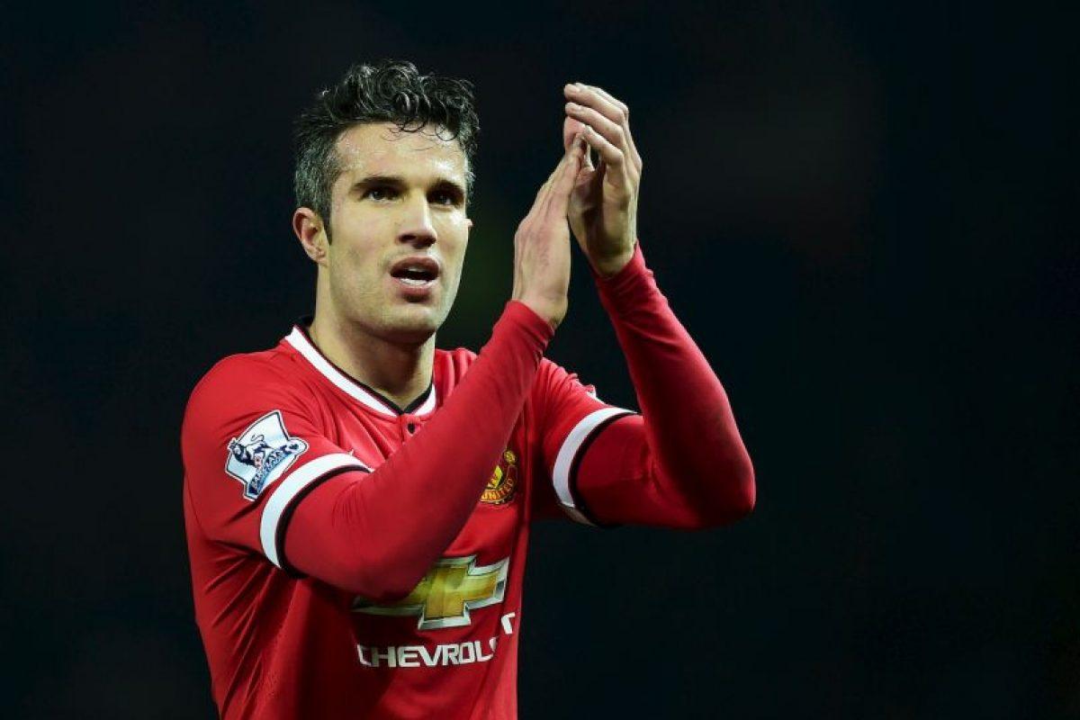 5. Robin Van Persie (Manchester United) / Ingresos: 25.6 millones de euros. Foto:Getty Images. Imagen Por: