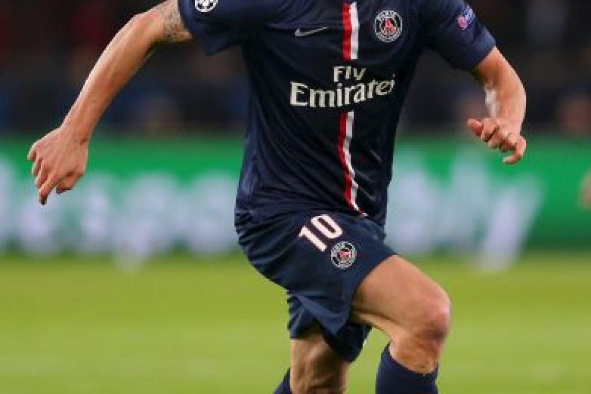 8. Zlatan Ibrahimovic (PSG) / Ingresos: 21.5 millones de euros. Foto:Getty Images. Imagen Por: