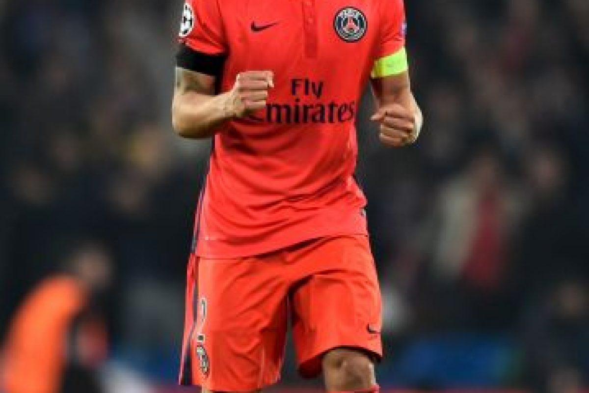 4. Thiago Silva (PSG) / Ingresos: 27.5 millones de euros. Foto:Getty Images. Imagen Por: