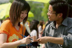 Después de varios años de relación entre Wu Hsia y Jun Tan, el noviazgo llegó a su fin. El joven posteriormente conoció a Rong Tsao, su pareja actual. Foto:Getty Images. Imagen Por: