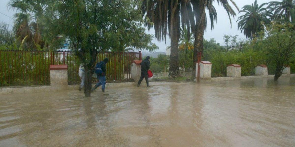 Así se vive el frente de mal tiempo que azota al Norte en la Región de Coquimbo