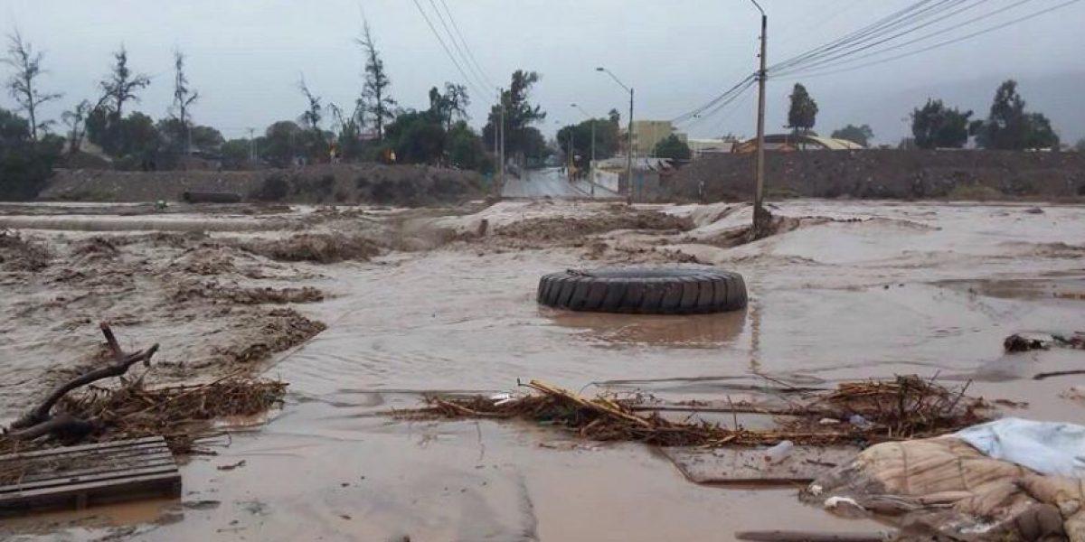 Decretan Alerta Roja en Atacama por frente de mal tiempo
