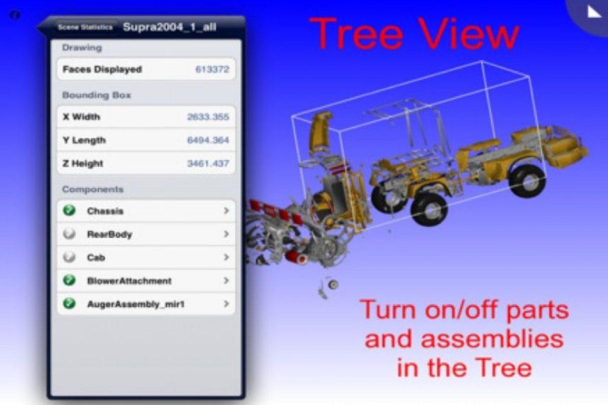 vueCAD Pro permite observar archivos de CAD en el iPhone, normalmente dibujos utilizados para la fabricación de diseños, hacerles cambios y enviarlos por correo electrónico. Foto:Titansan Engineering Inc.. Imagen Por:
