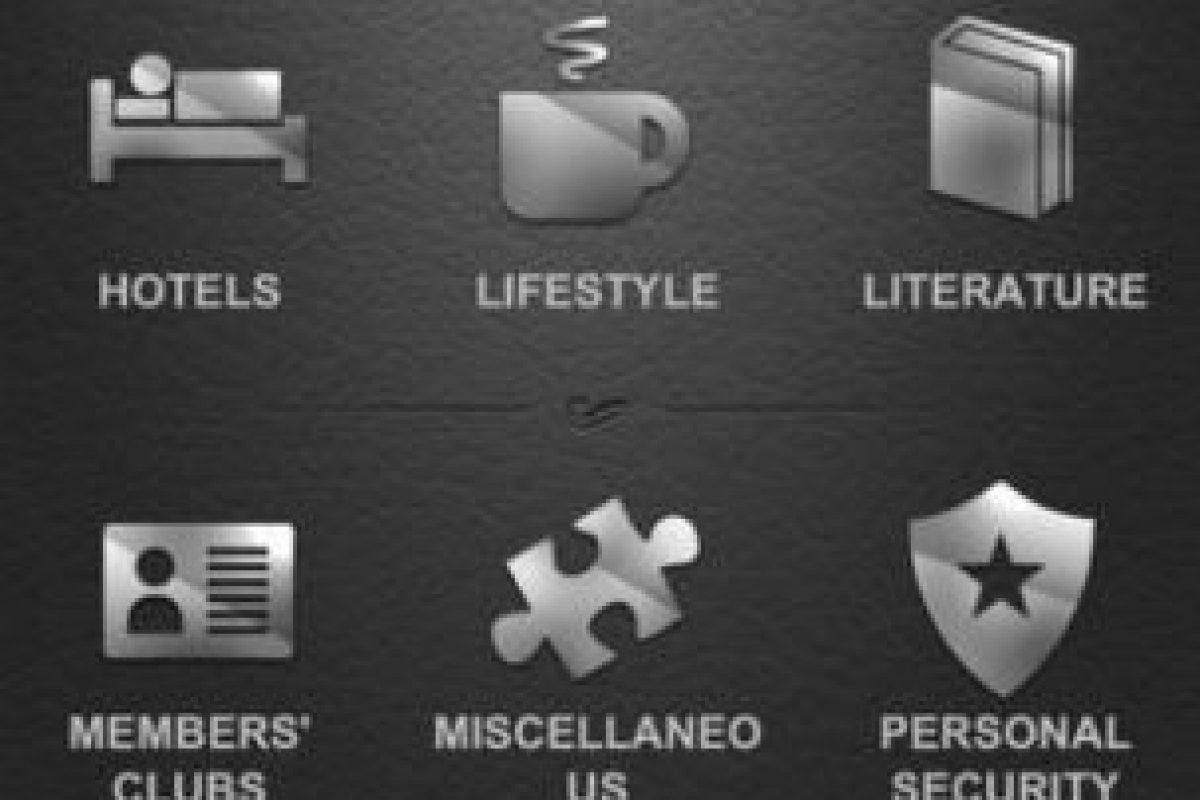 """Una vez que han adquirido iVIP Black, la app exije que se verifique que sus activos están por encima de un millón de dólares para aceptarlos. Se promociona como la """"primera aplicación de estilo de vida premium del mundo"""". Foto:iVIP Ltd.. Imagen Por:"""