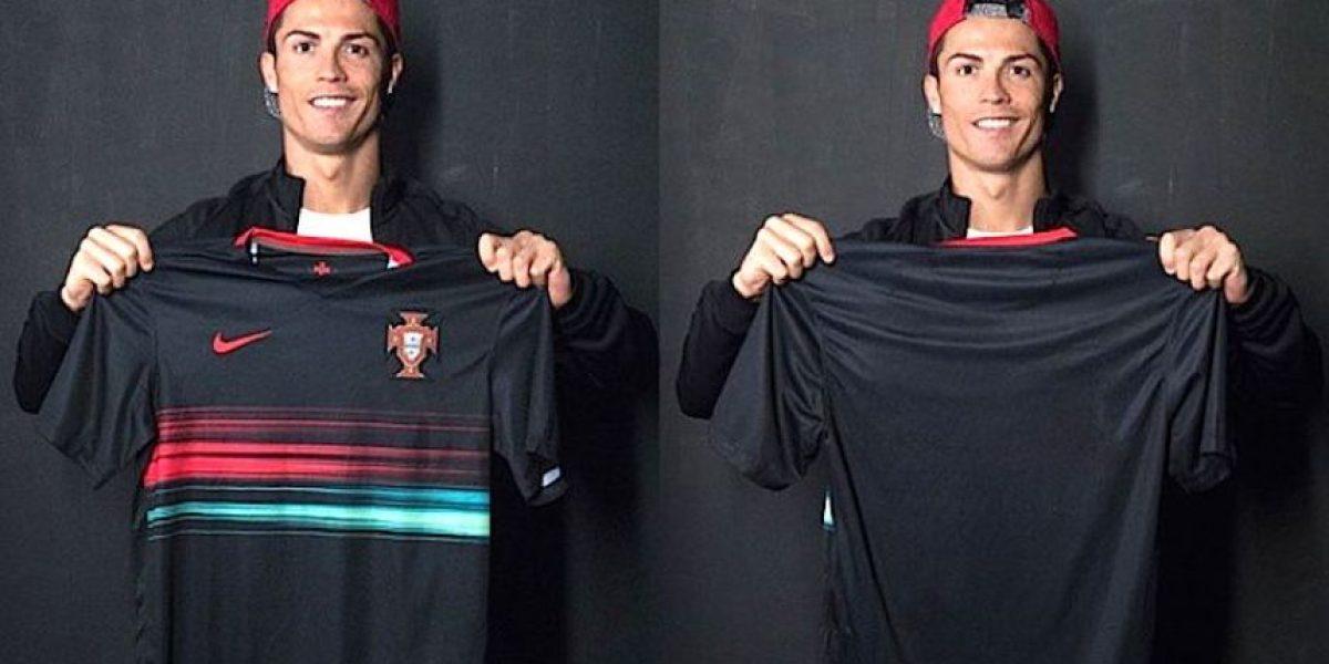 Cristiano presenta nuevo uniforme de Portugal