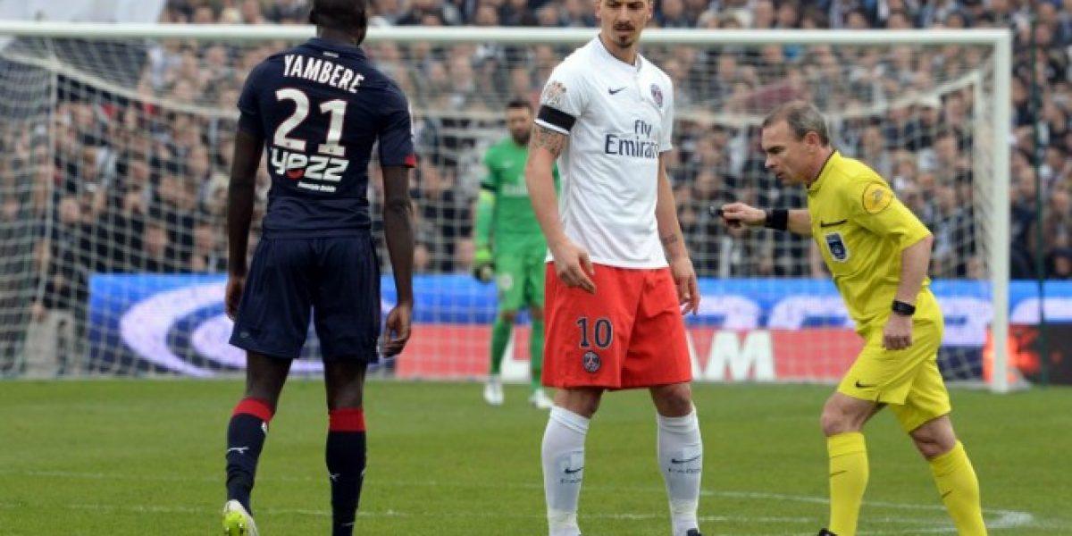 Zlatan sigue molesto por el arbitraje que lo sacó de sus casillas