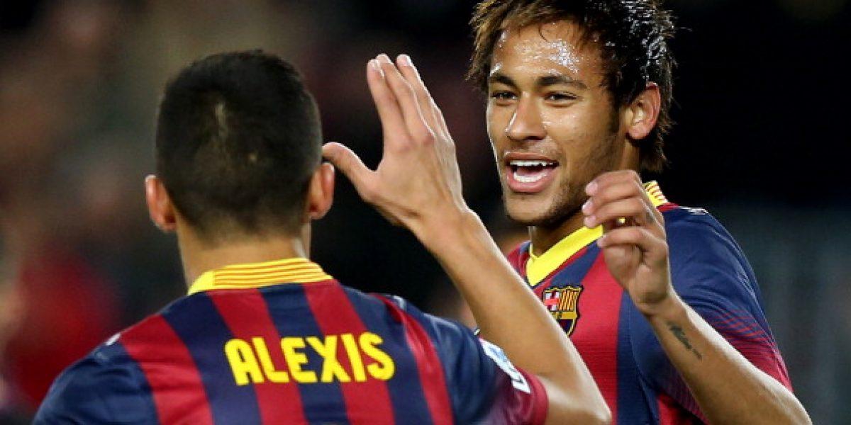 Alexis le manda mensaje a Neymar previo al Brasil vs Chile