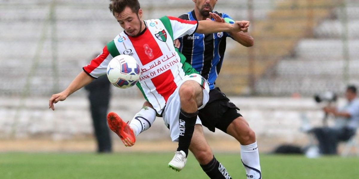 Palestino y Huachipato sólo igualaron en partido pendiente del Clausura