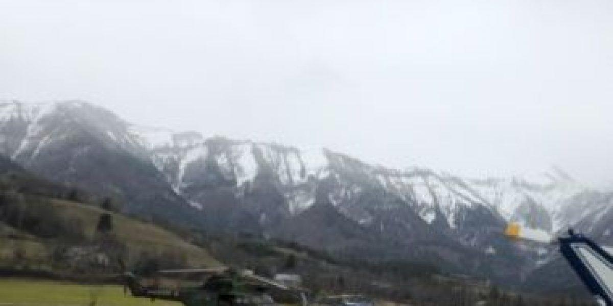 Infografía: tragedia aérea en los Alpes