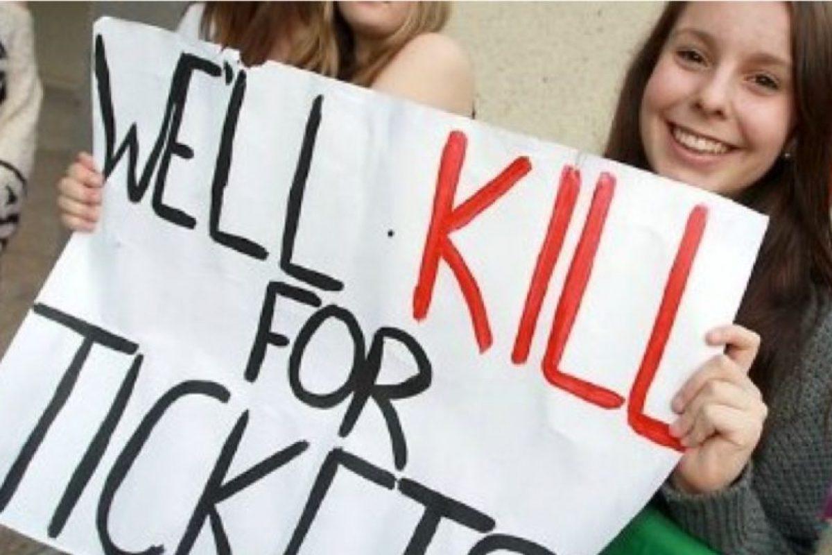 La que mataría por boletos. Foto:Getty. Imagen Por: