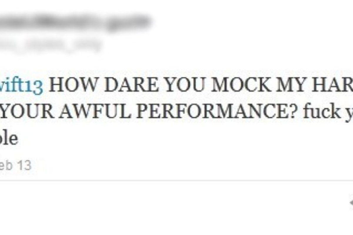 La que amenaza a Taylor Swift por burlarse de Harry Styles. Foto:Twitter. Imagen Por: