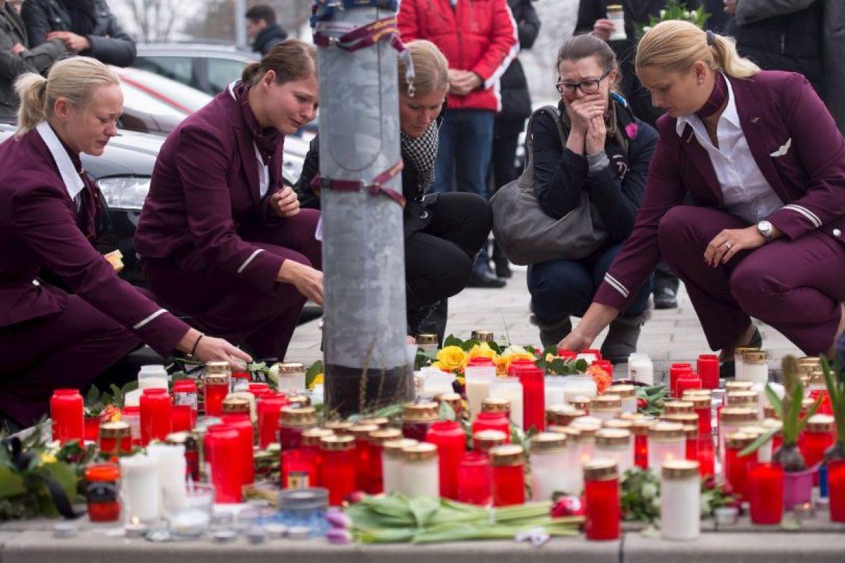 4. El avión cayó en los Alpes Franceses. Foto:AFP. Imagen Por: