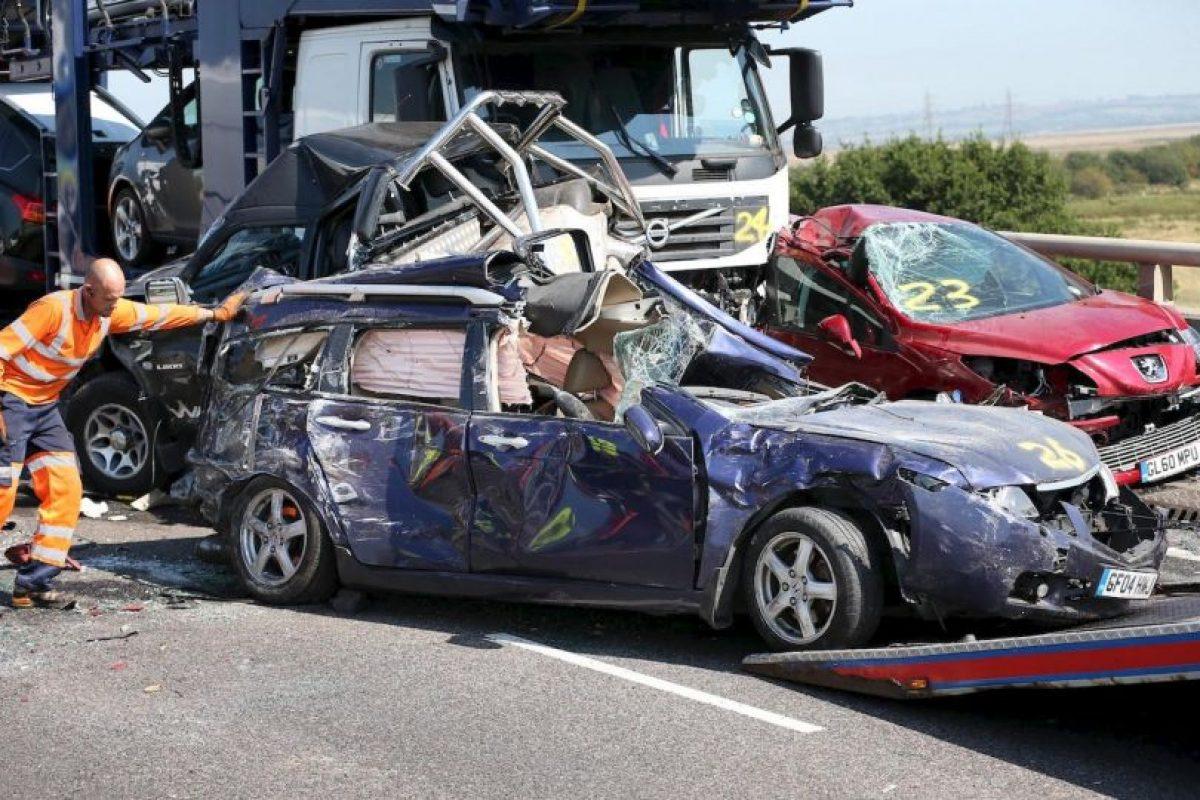En cuanto a los vehículos, el Banco propone apoyar la instalación, el mantenimiento y el uso de sistemas de seguridad en el vehículo. Foto:Getty. Imagen Por: