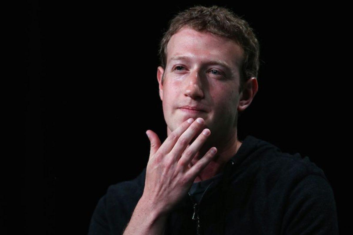Según Mark, solamente 2.7 mil millones de personas en el planeta tienen acceso a internet. Foto:Getty Images. Imagen Por: