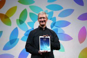 También el iPad. Foto:Getty Images. Imagen Por: