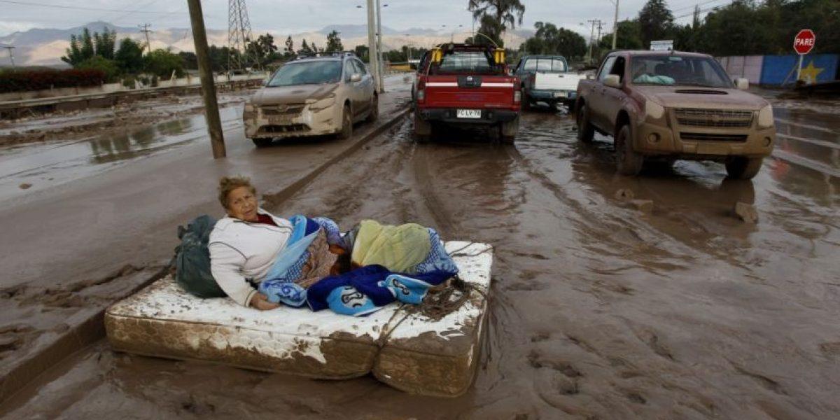El devastador amanecer de Copiapó y Paipote tras fuertes lluvias y aluviones