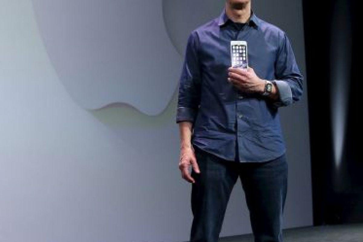 Tim ha presentado varias versiones del iPhone. Foto:Getty Images. Imagen Por: