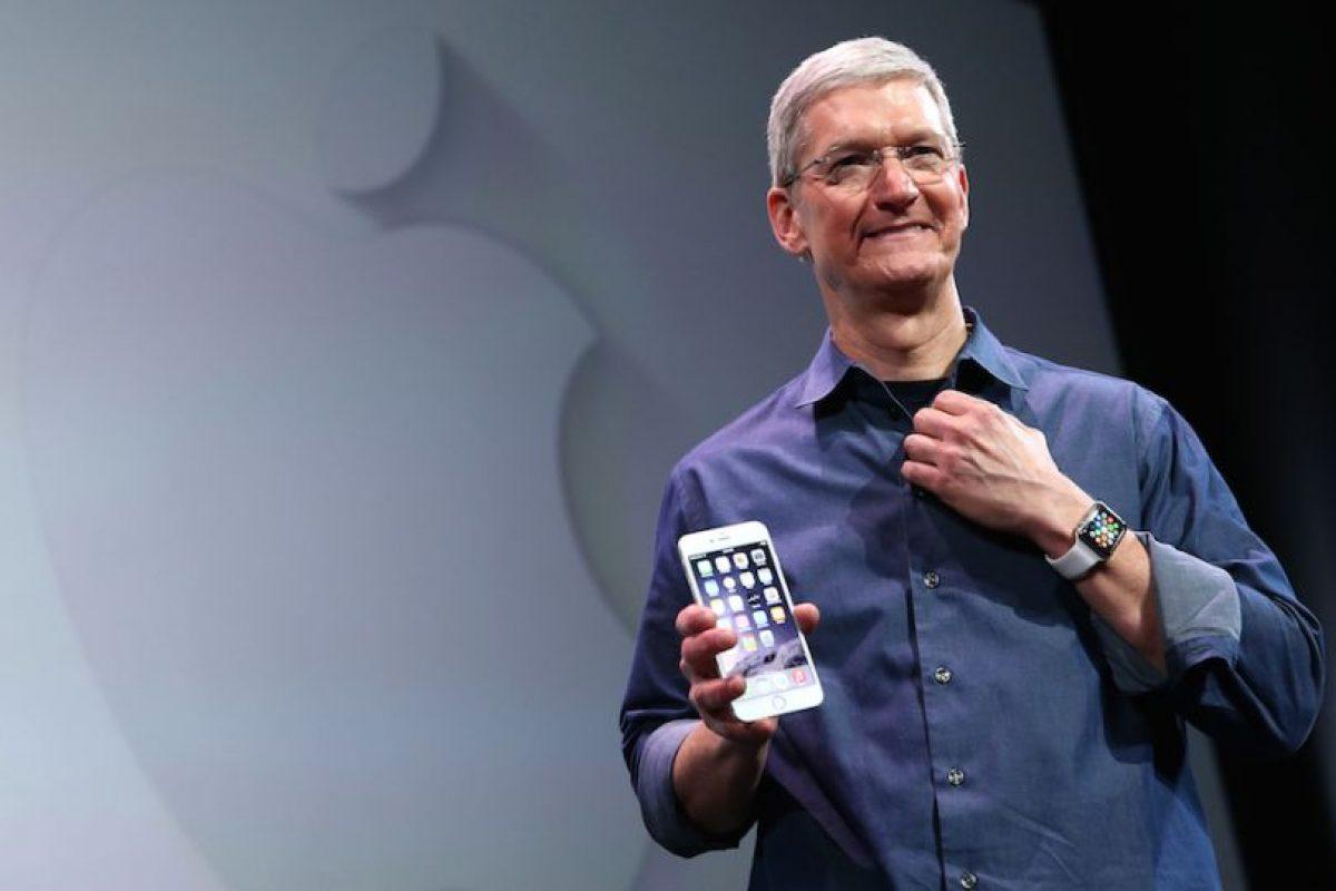 Tim Cook, CEO de Apple, donará toda su fortuna. Foto:Getty Images. Imagen Por: