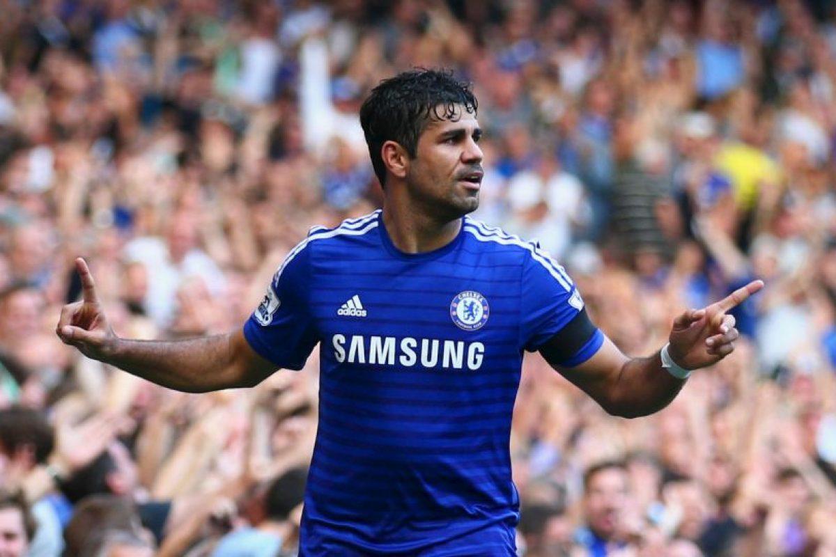 Delantero: Diego Costa / Chelsea / España Foto:Getty Images. Imagen Por: