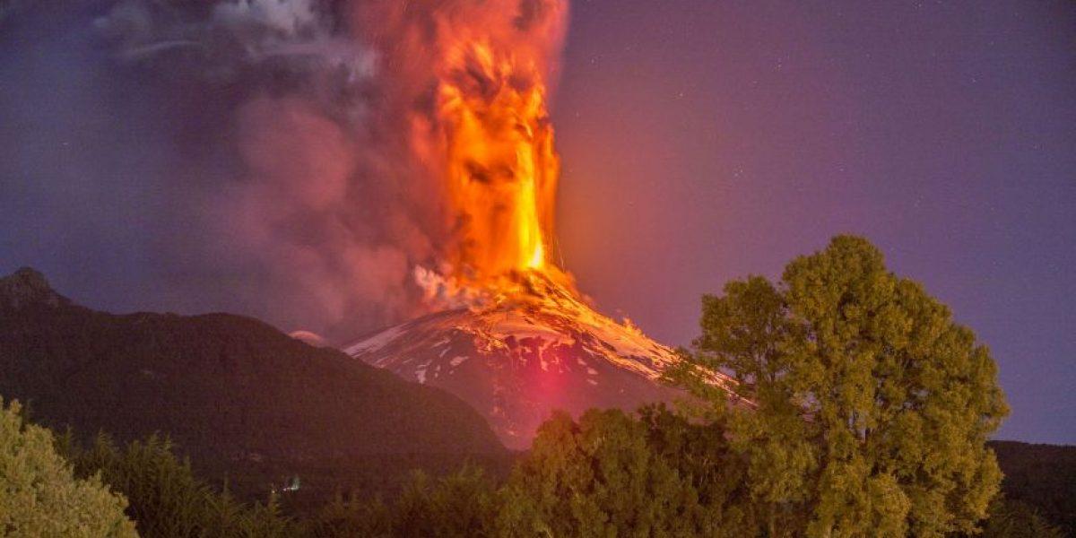 Erupción del volcán Villarrica podría ser similar o peor a la registrada en marzo