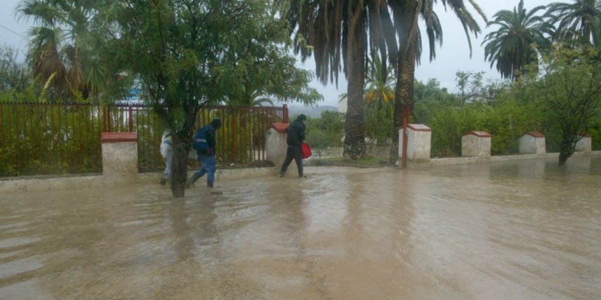 Sistema frontal en Coquimbo: