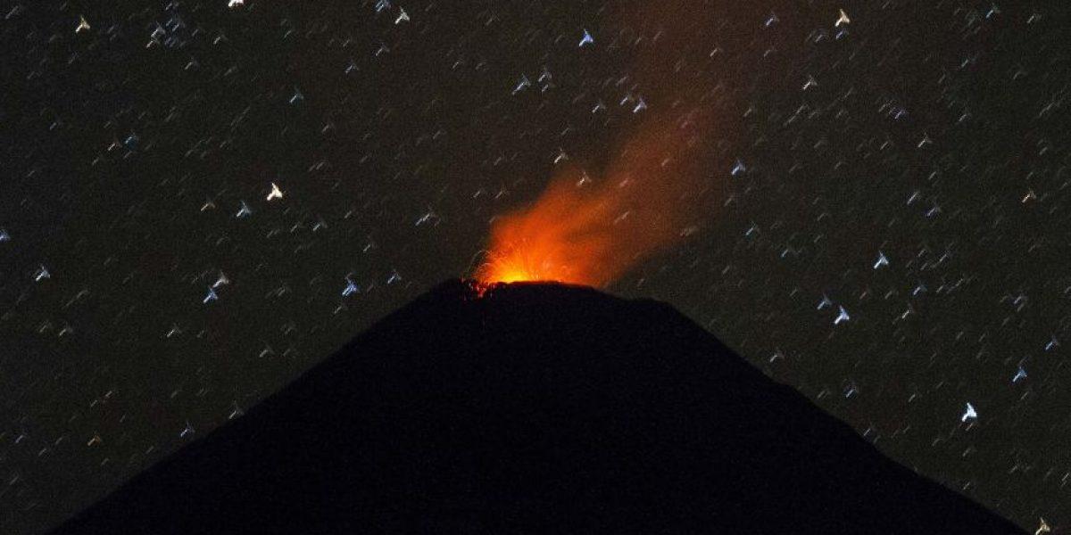 Las impresionantes fotografías que retratan la agitada noche del volcán Villarrica